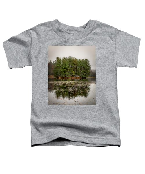 Foggy Island Reflections Toddler T-Shirt
