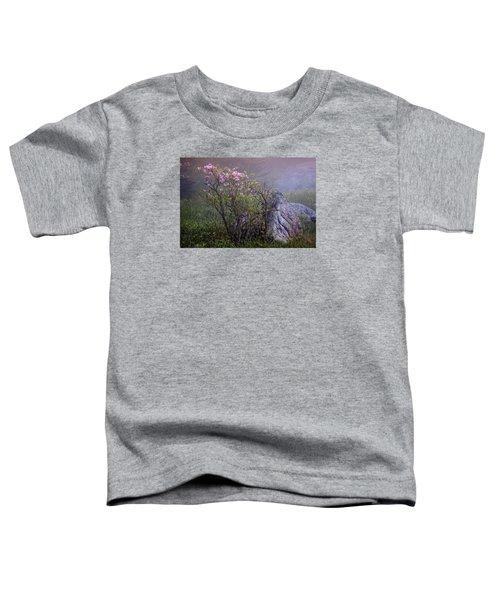 Foggy Pink Azalea Toddler T-Shirt