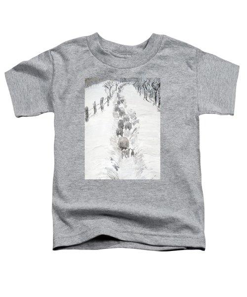 Follow The Flock Toddler T-Shirt