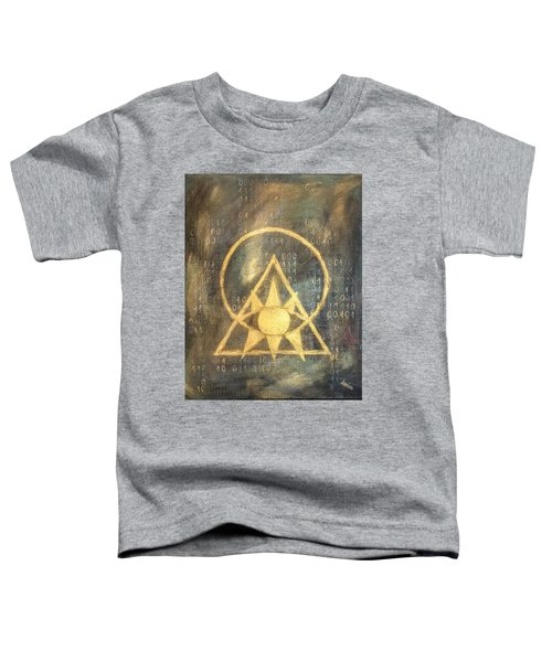 Follow The Light - Illuminati And Binary Toddler T-Shirt