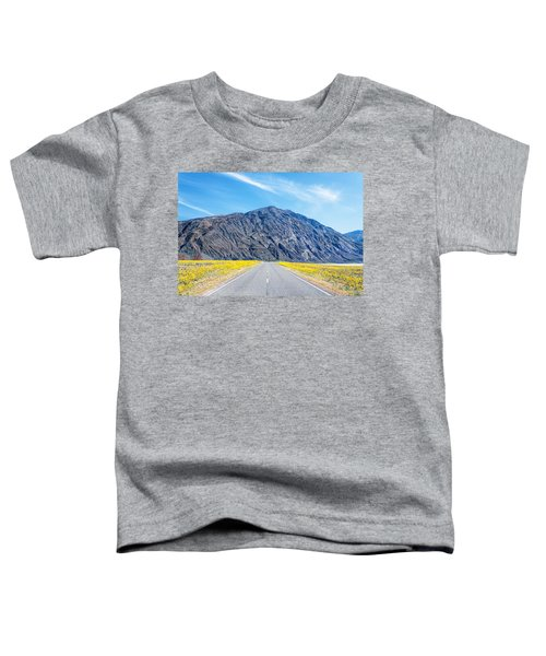 Follow The Yellow Lined Road Toddler T-Shirt