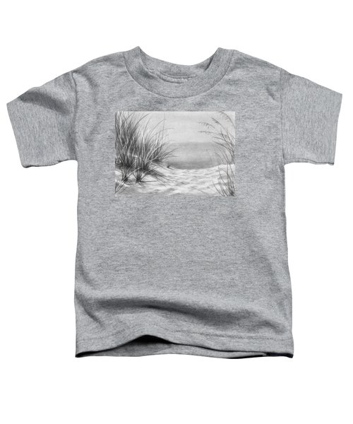 Footprints In The Sand Toddler T-Shirt