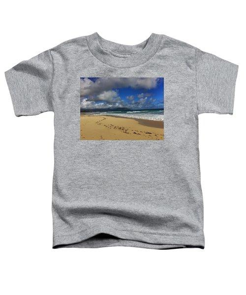 Footprints Toddler T-Shirt