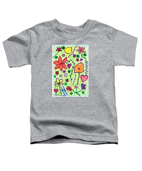 For The Love Of Flowers Toddler T-Shirt