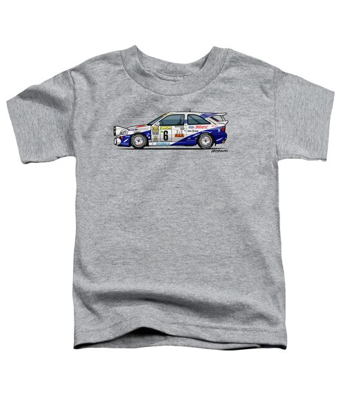Ford Escort Mk5 Rs Cosworth Group A Rally Monte Carlo 1994 Toddler T-Shirt