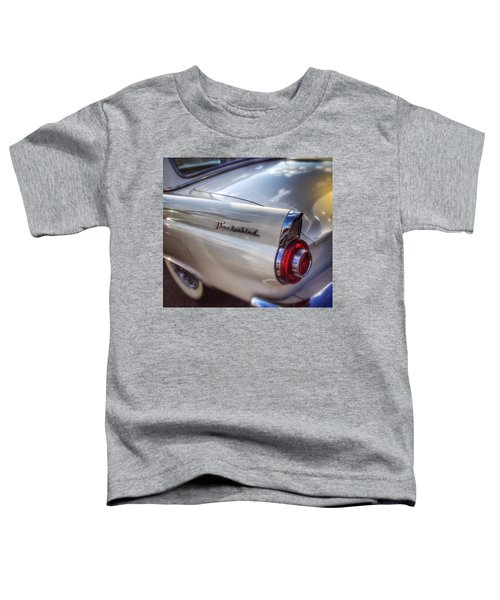 Ford Thunderbird Fender Color 2 Toddler T-Shirt