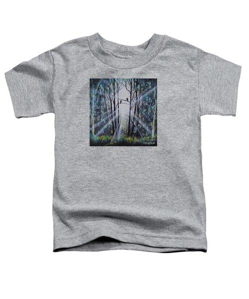 Forest Birds Toddler T-Shirt