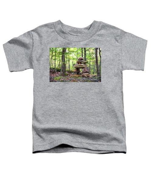 Forest Inukshuk Toddler T-Shirt