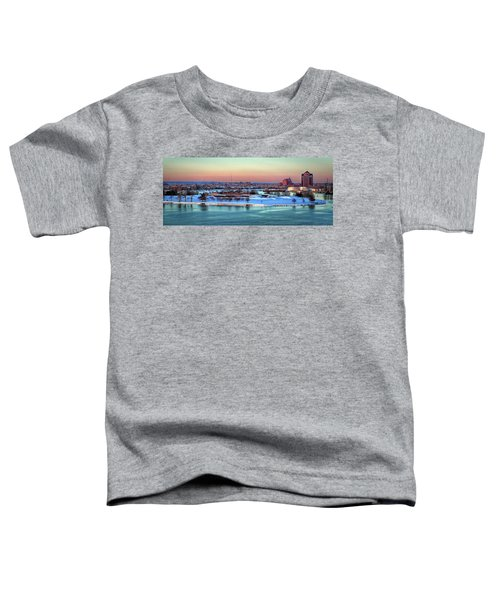 Fort Mchenry Shrouded In Snow Toddler T-Shirt
