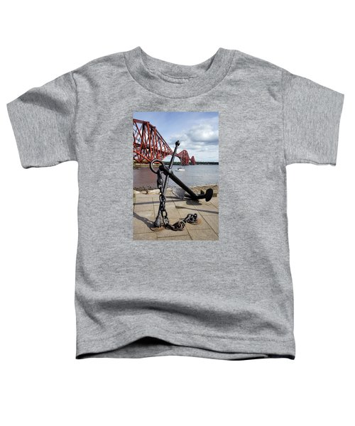 Toddler T-Shirt featuring the photograph Forth Bridge by Jeremy Lavender Photography