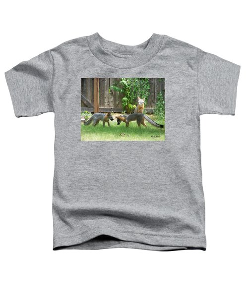 Fox Family Toddler T-Shirt