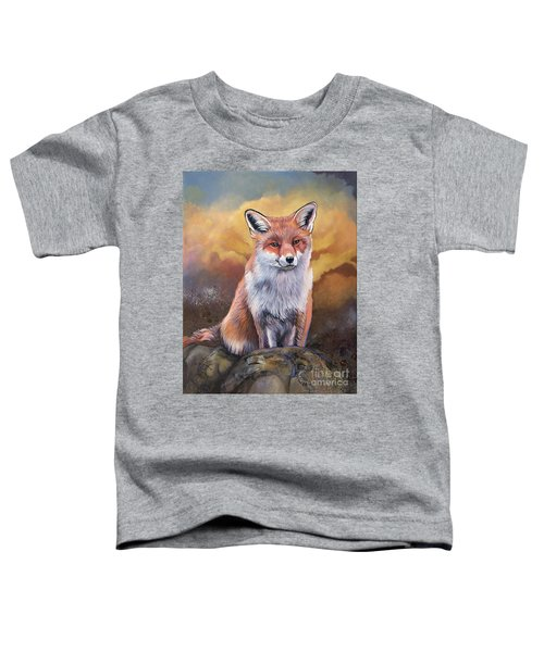 Fox Knows Toddler T-Shirt