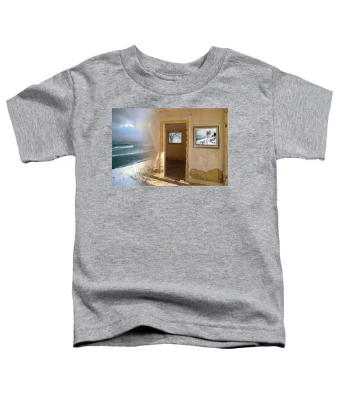 Toddler T-Shirt featuring the photograph Framed    by Doug Gibbons