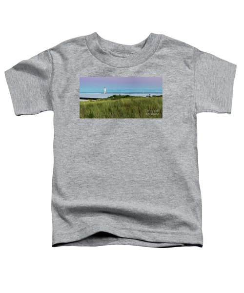 Frankfort North Breakwater Lighthouse From Elberta Toddler T-Shirt