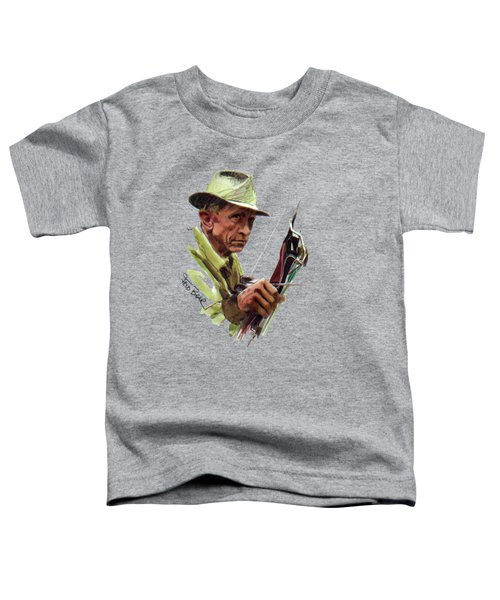 Fred Bear Archery Hunting Bow Arrow Sport Target Toddler T-Shirt