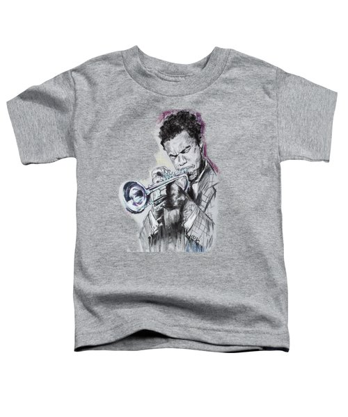 Freddie Hubbard Toddler T-Shirt by Melanie D