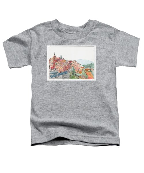 French Hill Top Village Toddler T-Shirt