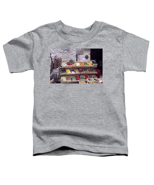 French Vegetable Stand Toddler T-Shirt