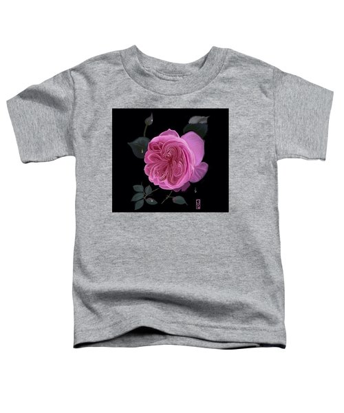 Toddler T-Shirt featuring the digital art Frenchie by Gerry Morgan