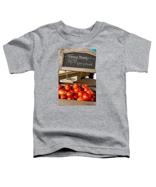 Fresh The Garden Tomatoes Toddler T-Shirt