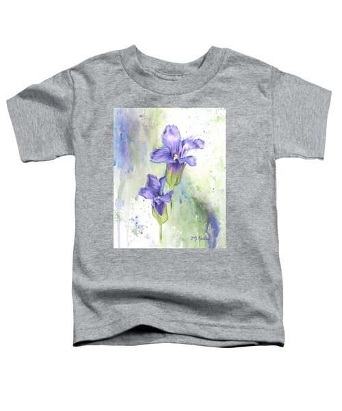 Fringed Gentian Toddler T-Shirt