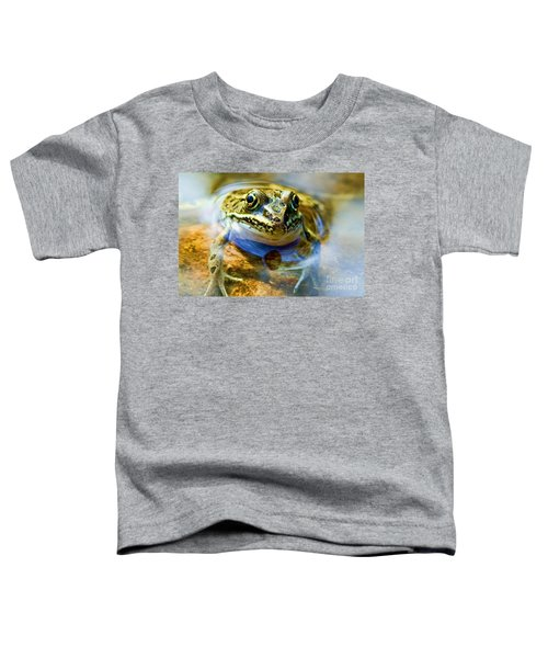 Frog In Pond Toddler T-Shirt