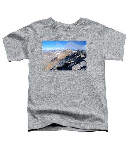 From Atop Mount Massive Toddler T-Shirt