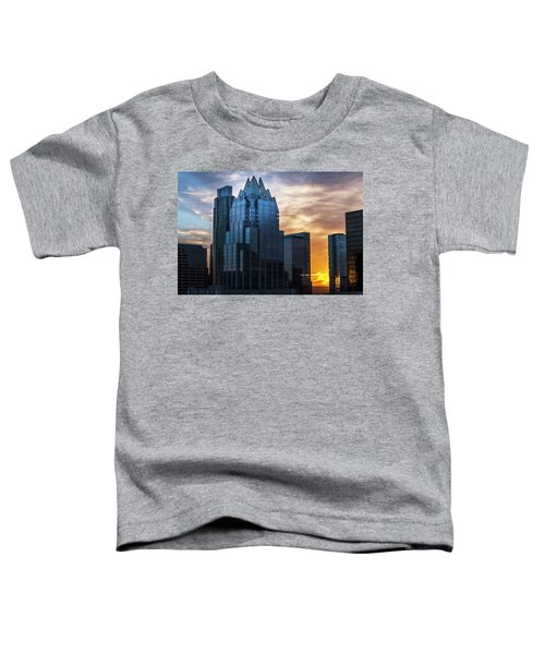 Frost Bank Tower Toddler T-Shirt