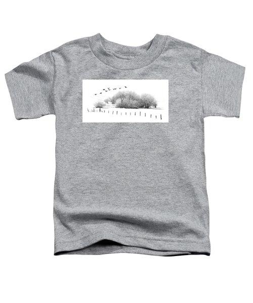 Frosty Flight Toddler T-Shirt