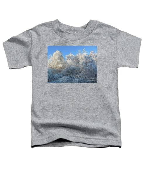 Frosty Trees Toddler T-Shirt