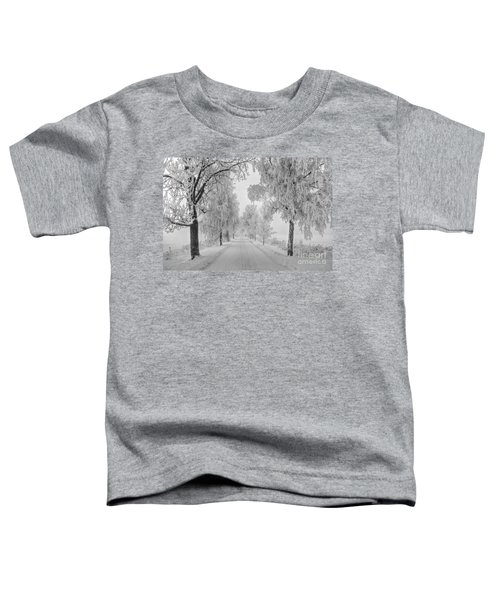 Frosty Winter Morning Toddler T-Shirt
