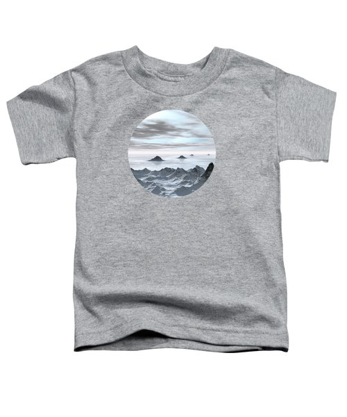 Frozen Arctic Sea Toddler T-Shirt