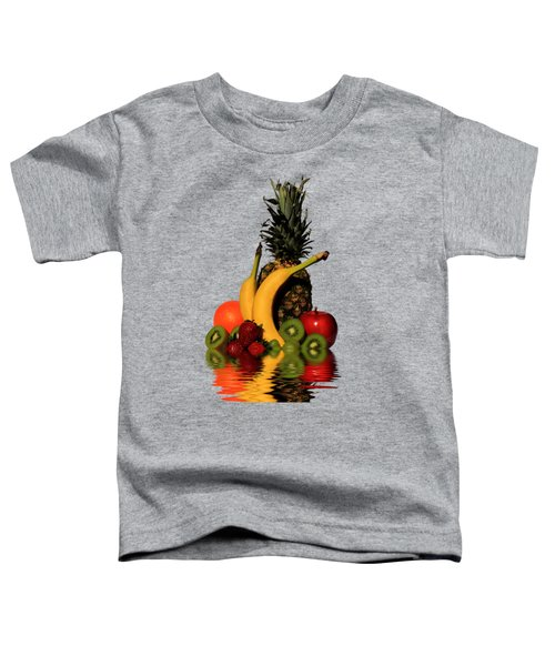 Fruity Reflections - Medium Toddler T-Shirt by Shane Bechler