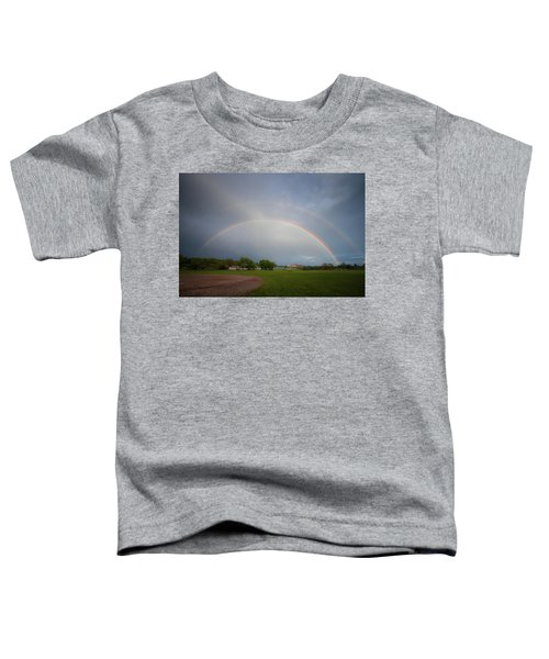 Full Double Rainbow Toddler T-Shirt
