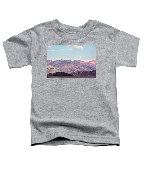 Full Moon Over Artists Palette Toddler T-Shirt