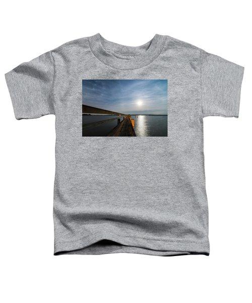 Full Moon Pier Toddler T-Shirt