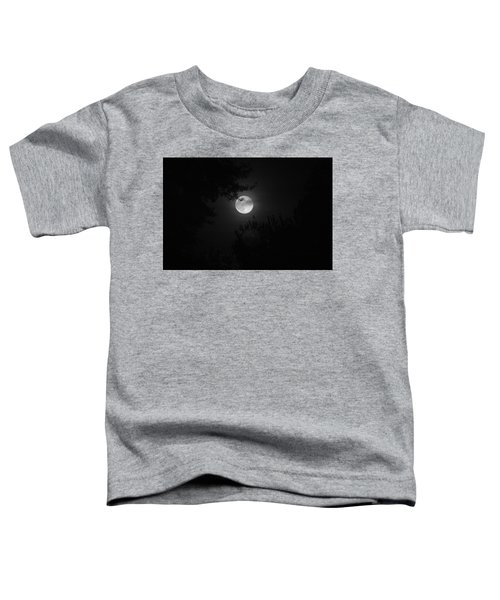 Full Moon With Branches Toddler T-Shirt