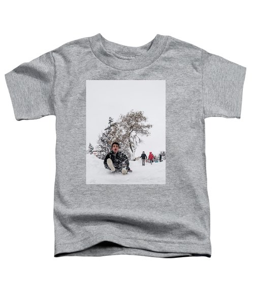 Fun On Snow-2 Toddler T-Shirt