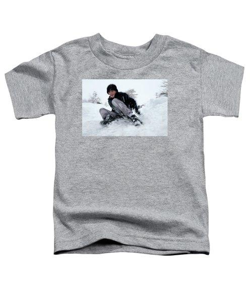 Fun On Snow-4 Toddler T-Shirt