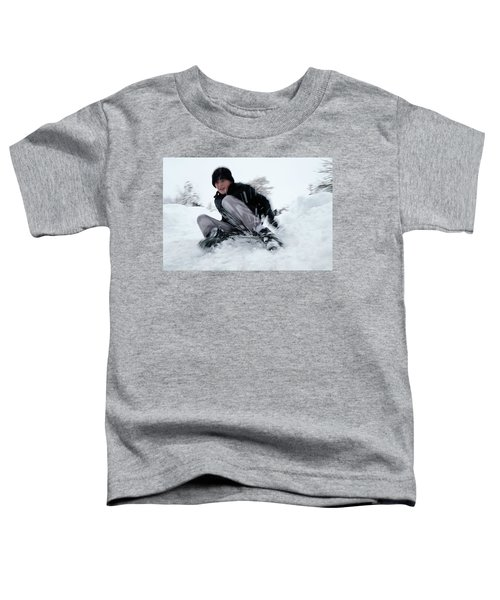 Fun On Snow-4 Toddler T-Shirt