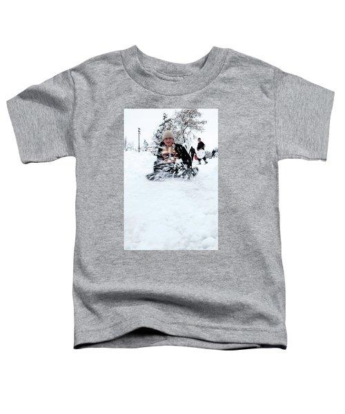 Fun On Snow-5 Toddler T-Shirt