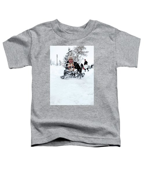 Fun On Snow-5 Toddler T-Shirt
