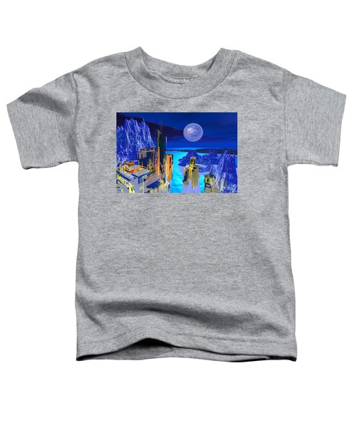 Futuristic City Toddler T-Shirt