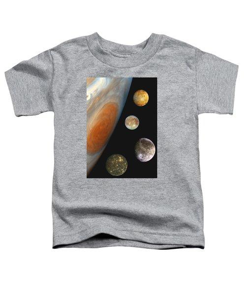 Galilean Moons Of Jupiter Toddler T-Shirt