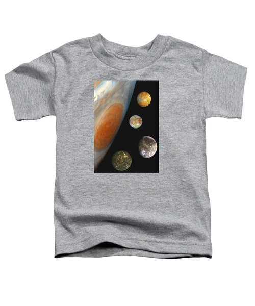 Galilean Moons Of Jupiter Toddler T-Shirt
