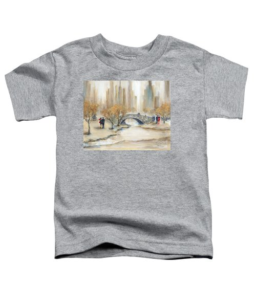 Gapstow Bridge And Lovers Toddler T-Shirt