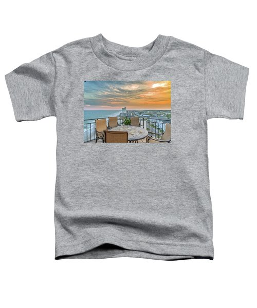 Garden City Beach View Toddler T-Shirt