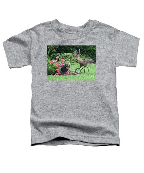 Garden Visitors Toddler T-Shirt