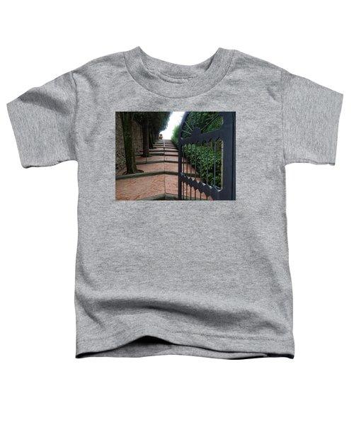 Gate To Castello Vichiamaggio Toddler T-Shirt