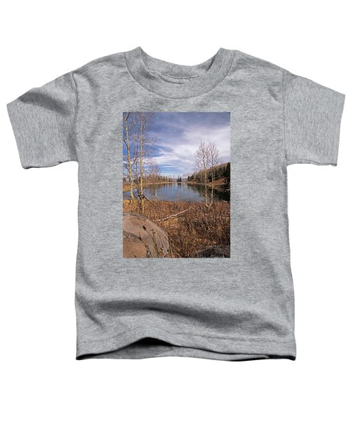 Gates Lake Ut Toddler T-Shirt